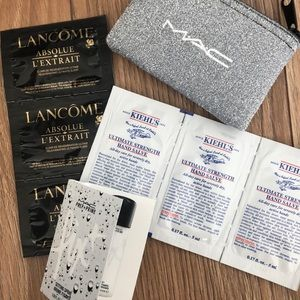 Bundle of Beauty Samples + Pouch
